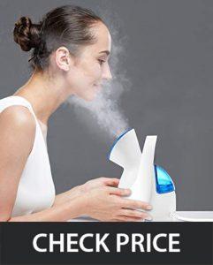 KINGDOMCARES Nano Ionic Hot Mist Facial Steamer