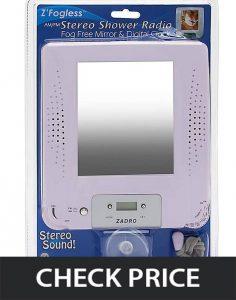 Zadro-Z-Shower-Mirror-Radio