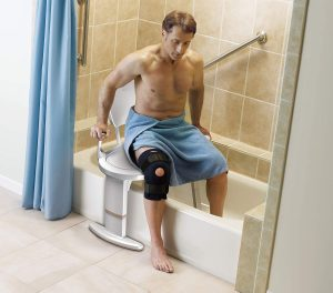 best shower chair with back